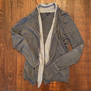 GAP Open Front Layered Cardigan